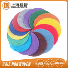colorful polyester needle punched fabric for handiwork