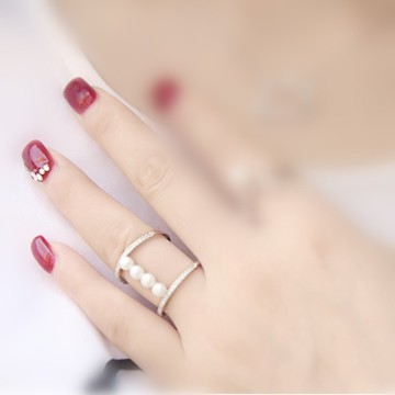Immitation Jewels Perak 925 Ring for Girl