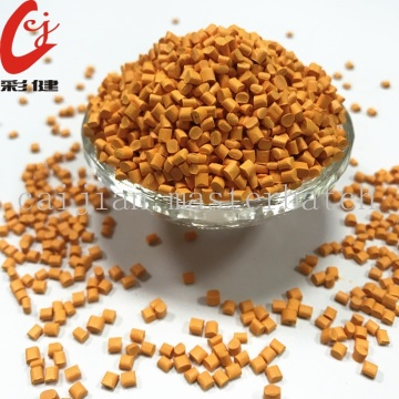 Orange Colour Masterbatch Granules