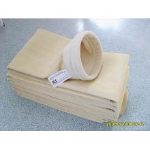 Fabricación de una bolsa de filtro de polvo Nomex para la industria del cemento