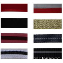 100% Nylon Colorful Woven Organza / Sheer Ribbon