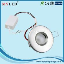 Preço promocional 2.5inch 3W Slim LED Light LED Ceiling CE RoHS com 2 anos de garantia IP20