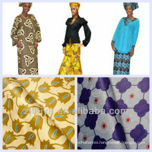 Precio barato África Textiles Guinea Brocade Nigeria Tela Bazin riche Moda Damasco Venta al por mayor y venta al por menor Promoción