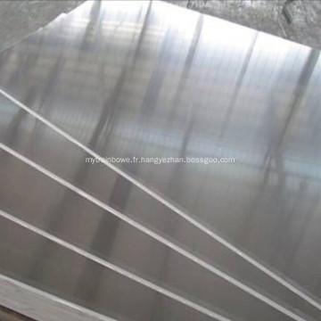 Plaque en aluminium pour planche de navire