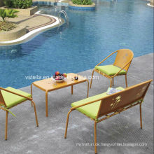 Außengarten Patio Aluminium Stuhl