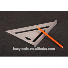 Triangular rafter Try square ruler adjustable square ruler