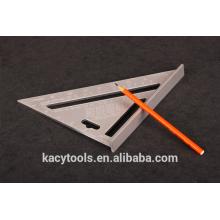 Triangular, viga, tentar, quadrado, régua, ajustável, quadrado, régua