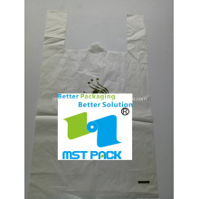 Saco biodegradável PLA com alça