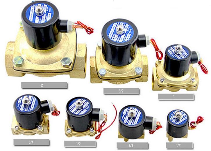 2w water valve