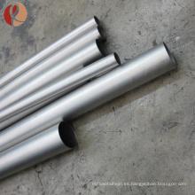 2018 caliente venta astm b338 gr1 tubo de titanio sin costura