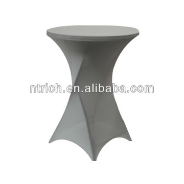 lycra/spandex tablecloth,cocktail tablecloth for wedding/banquet/party