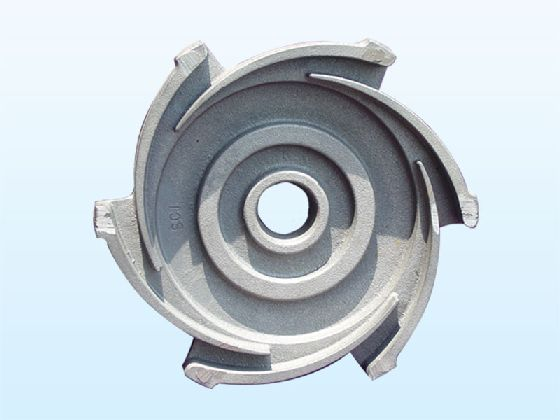 Ductile Cast Iron Water Pump Impeller