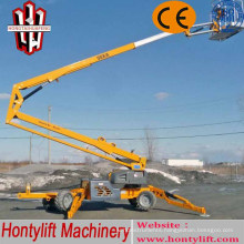 8 m CE cheap sale china boom lift/telescopic boom lift/truck mounted aerial work platform