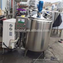 Precio de fábrica del equipo del tanque de enfriamiento de la leche de vaca del acero inoxidable / del tanque de almacenamiento