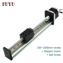 Aluminium ball screw linear rail linear guides