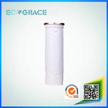 Planta de cemento 100% poliéster filtro de aire de bolsillo