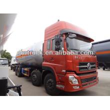 hot sale Dongfeng kinland 8x4 LPG tank truck 34.5 cbm