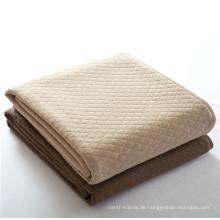 15PKQT01 2015 neue 100% Baumwolle leichte Luft Reisen Decke