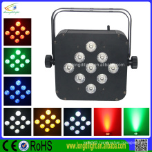 Battery & Wireless DMX RGB LED Slim Par Light Wedding decoration RGBW dmx led par