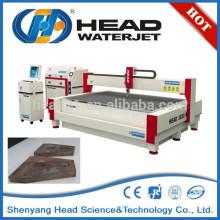Meio ambiente amigável cortador hidráulico de corte de jato de água máquina de aço
