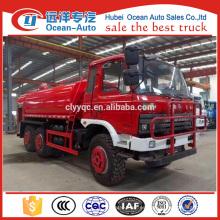 Dongfeng 6x6 watering car para la venta