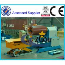 máquina automática de decoiler hidráulico de 10 toneladas de alta calidad y bajo precio