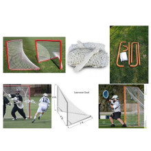 China Manufacturers for Lacrosse Training Rebounder 2018New Style Deluxe Lacrosse Goal & Net export to France Suppliers