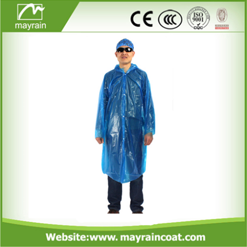 PE Long Sleeve Raincoat
