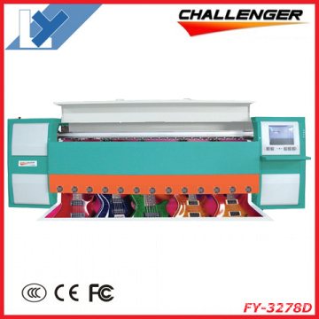 3.2m Challenger Most Heavy Duty Large Format Solvent Inkjet Printer (FY-3278D)