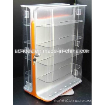 Customized Size Functional Acrylic Rack Stand/Display Cabinet / Exhibition Stand