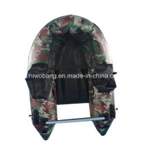 Military Green Color Small Inflatable Boat Fishing Boat