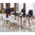 white Small Wood Dining Table