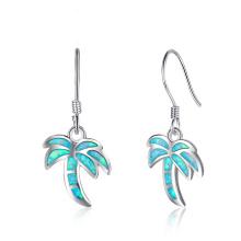 New Fashion Opal Stone Popular Jewelry Opal Earring for Women