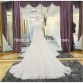 Spätestes Hochzeitskleid 2018 Spitze Brautkleid weg von der Schulter kaufen China-Hochzeitskleid