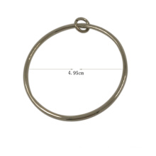 Garment Ornament Fashion Grande Metal Ring Zipper Pull