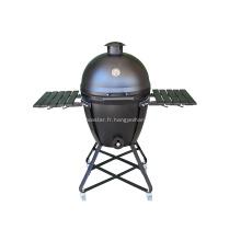 Barbecue barbecue en acier Kamado de 22 po