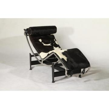 Le Coebusier LC4 pony skin chair réplica