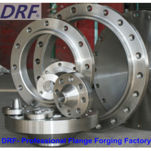 DIN Flange Factory, acier inoxydable, forgeage