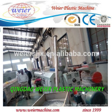 Simple HDPE pipe machine line
