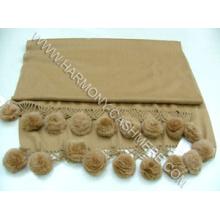 Кашемировый платок с Рекс кролика цветок (тю-ЮЗ-CSF09009A)