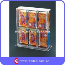 Candy display rack acrylic food display stand