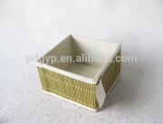 Practical Bamboo Mat Box For Living At Home