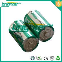 Pó químico em lr20 bateria d 1.5v