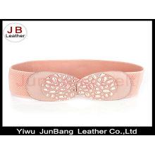 Fancy Latest New Women Wide Elastic Envelope Belt com melhor qualidade Buckle