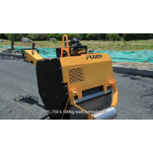 Air cooling diesel double drum hydraulic hand vibratory roller  FYL-750