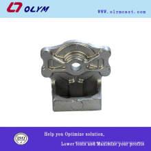 OEM de fundición de acero de productos de precisión casted decorativas manijas