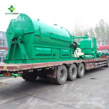 Turnkey Used Engine Oil Waste Tire Oil to Diesel Distillation Recycling Plant
