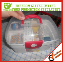 Haushalt tragbare Kunststoff Erste-Hilfe-Kit-Boxen