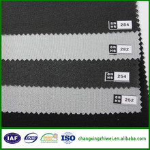Woven best quality 100% polyester fusing fabric