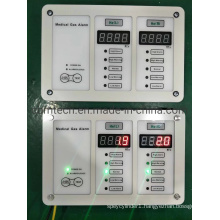 Medical Gas Pipeline System O2+Air+VAC Alarm Panel for Hospital